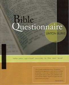 Bible Questionnaire Book