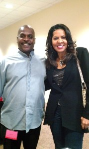 Me and Dr teresa Hairston